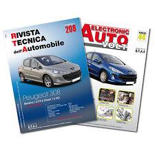 1 Manuale tecnico riparazione/manutenzione + 1 Manuale Diagnosi Auto Peugeot 308