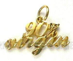 90% Virgin Charm / Pendant EP Gold Plated with a Lifetime Guarantee