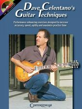 Dave Celentano's Guitar Techniques - Guitar Book and CD NEW 000000314