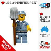 LEGO® Minifigures™ - Janitor (9 of 16) Series 15 (Cleaner/City) - NEW IN PACK