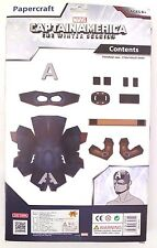Marvel Papercraft Boy's Kids Captain America Build Your Own Helmet Ages 8+  NEW