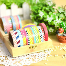 3615roll Wash Tapes Paper Sticky Adhesive Sticker Decor Scrapbooking DIY~-,