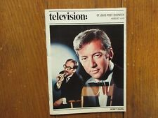 Aug. 6, 1972 St. Louis Post Dispatch TV Maga(BOBBY DARIN/GROUCHO MARX/DON KNOTTS