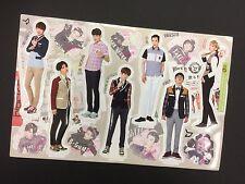 Kpop BLOCK B K pop High Quality Official Photo Standing Paper Doll