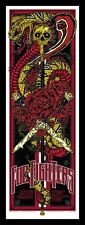 Foo Fighters Tenacious D Sydney Screen Print Concert Gig Poster - Rhys Cooper