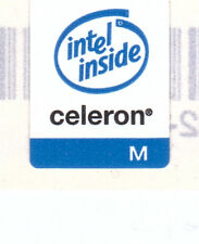 Intel Celeron mobile  Case Sticker Aufkleber Badge