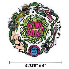 "Santa Cruz Slime Ball Wheels Vomit Skateboard Sticker 4"" Old School Jim Phillips"