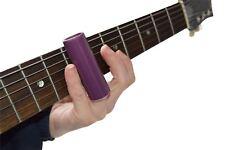 Diapositiva de guitarra Ceramic por 19 Music súper fuerte Púrpura M mediano tamaño 18 mm