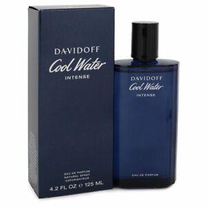 Davidoff Cool Water Intense Fragrance 4.2oz Eau De Parfum MSRP $79 NIB