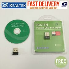 RealTEK Mini USB 150Mbps Wireless 802.11N LAN Card WiFi Adapter Nano Wlan #01