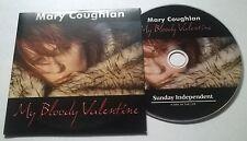 MARY COUGHLAN * MY BLOODY VALENTINE  *  RARE 8 TRACK IRISH PROMO CD