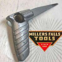 Vintage KEYHOLE SAW Pistol Grip MILLERS FALLS Blade ANTIQUE Tool RETRO Steampunk