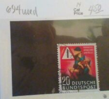 Germany Occupation Postal,Semi Postal and Regular Stamps. MNH but 694 (used)!