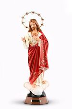 Statue Sacred Heart of Jesus Religious Figurine Immaculate Heart of Jesus  - 19""