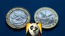 2004 & 2014 FALKLAND ISLANDS £2 Two Pound 30 Years of Coinage & HMS Glasgow Coin