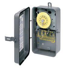 Intermatic T101R Indoor/Outdoor Raintight Timer, 110 Volt, 40 Amp