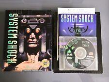 System Shock Jeu Game Pc Cd Rom Big Box