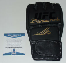 MARC DIAKIESE SIGNED AUTO'D UFC OFFICIAL GLOVE BAS COA 204 FIGHT NIGHT BAMMA