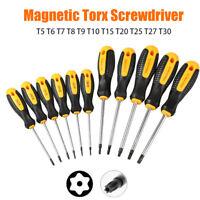 1PC  Drive  Cacciavite Lunghe Star Torx Foro Magnetica Antimanomissione T5-T30