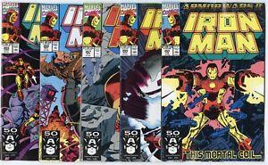 Iron Man #265 - 281  Complete Run  avg. NM 9.4  Marvel  1991  No Reserve
