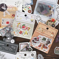 Time Series Scrapbooking Labels Stickers Pocket Book Collage Paper Sticker