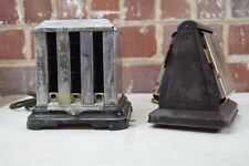 Antique Toasters: 1930's Samson Tri-Matic 3 Slice Toaster & Double Sided Toaster