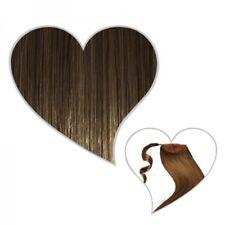 queue de cheval Postiche 50 cm Marron Cendré Clair #08 Cheveux véritables