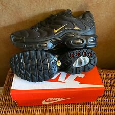 Nike Max Plus Size 10  - Black/Gold
