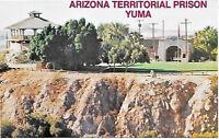 1977 Postcard Territorial Prison Yuma Arizona