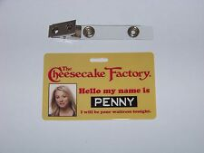The Big Bang Theory - Penny , Cheesecake Factory , ID - Karte , ID Badge
