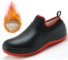 Non-slip Chef Shoes Mens Kitchen Safety Shoes Winter Lined Work Boots Us 10