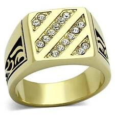 Cubic Zirconia Stone Rings for Men