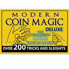 Magic Makers Modern Coin Magic DELUXE Over 200 Tricks 4 DVD