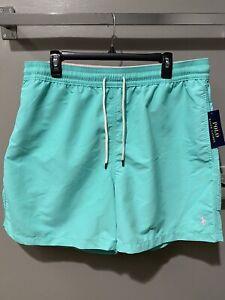 "Polo Ralph Lauren Men's 5.5"" Inch Traverler Swim Trunks Size XXL (2XL) MSRP $69"