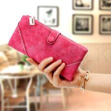 Portafogli e borsellini da donna rosa pelle con organizer