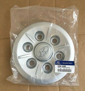 Hyundai Alloy Wheel Plastic Centre Cap - 529604H000 **Genuine New Hyundai Part**