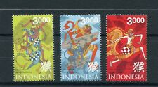 Indonesia 2016 MNH Year of Monkey 3v Set Chinese Lunar New Year Stamps