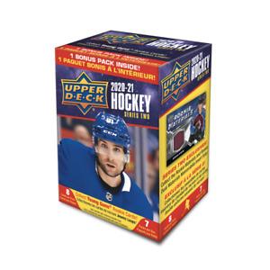 2020-21 Upper Deck Series 2 Hockey 7 Pack Blaster Box PRESALE 4/14/21