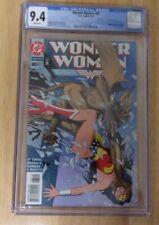 WONDER WOMAN #85 1994 SHARP CGC 9.4 WHITE AMAZING DEMON COVER DEODATO ART