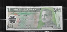 GUATEMALA #115a 2008 QUETZAL VG CIRC  POLYMER BANKNOTE PAPER MONEY NOTE
