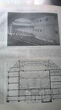 1915 65 lunga Beck Virchow casa Berlino/Bellevue STEG helgoländer Riva