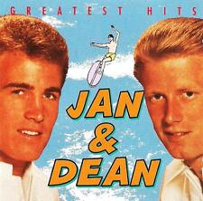 CD JAN & DEAN greatest hits Surf City Little Old Lady From Pasadena Dead Man's