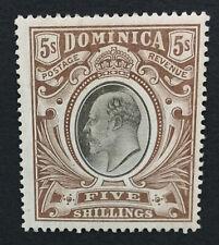 MOMEN: DOMINICA SG #46 1908 MINT OG H LOT #193108-1740