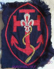 BG9379 - INSIGNE TISSU PATCH SCOUTS DE FRANCE MARIN pour le caban