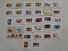 timbres français  coix rouge oblitéré