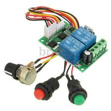 New Universal DC 6-24V 3A PWM RC Motor Speed Regulator Controller Switch L
