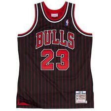 NBA Jersey Michael Jordan 23 Chicago Bulls Retro Black Basketball Swingman shirt