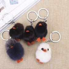 Charm Fashion Soft Duck Women Girl Handbag Pendant Key Ring Ornament Key Chain