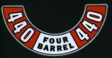 MOPAR 1972-1974 440 Four Barrel Air Cleaner Decal