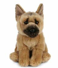 Living Nature German Shepherd Plush Soft Toy Dog 20cm Stuffed Animal